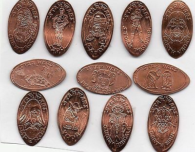 Star War 12 Elongated Penny Set