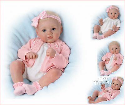 Ashton Draked Perfect In Pink Annika Poseable Weighted Baby Doll