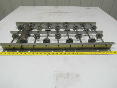"10"" wide gravity skate wheel conveyor approximately 28-1/2"" long"
