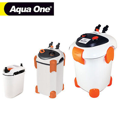 Aquarium Fish Tank External Filter Opt. UV - Aqua One Ocellaris Cannister Filter
