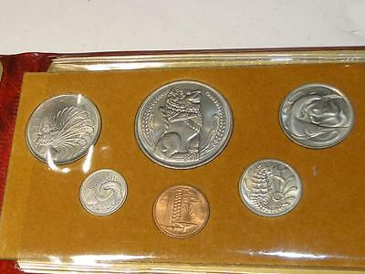1976 Singapore Year of the Dragon Uncirculated Coin Set