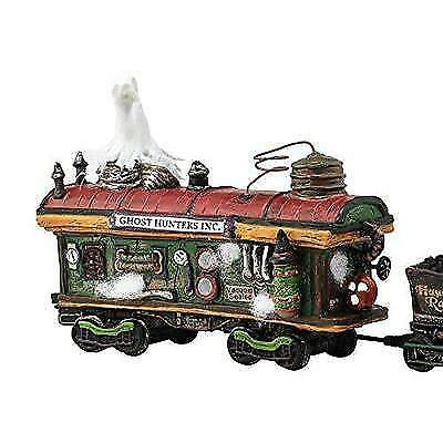 Department 56 Halvl Scary Ghost Hauler Lit_house New