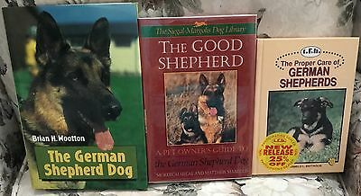 3 German Shepherd Dog Books