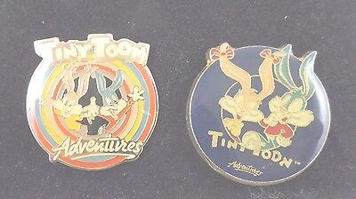 wb Tiny Toon Toons 2 Pin Buster & Babs Set Warner Brothers Looney tunes Bros Lot