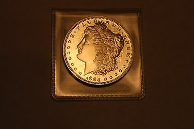 Daniel Carr 1964 D Morgan Dollar Die 2 PL Clashed High Grade SOLD OUT