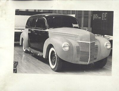 1940 Lincoln K V12 Limo Prototype Concept ORIGINAL Factory Photo Lot ww7506