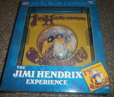 Jimi Hendrix Experience Mcfarlane Toys 3D Album Cover Are You Experienced Figure