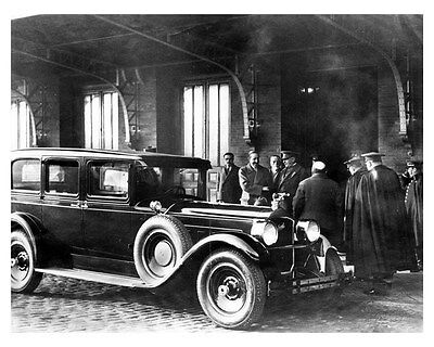 1928 Packard 4th Series ORIGINAL Factory Photo King Alfonso XIII, Spain oub2604