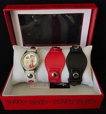 Betty Boop Watch & Additional Bands – Mint In Box
