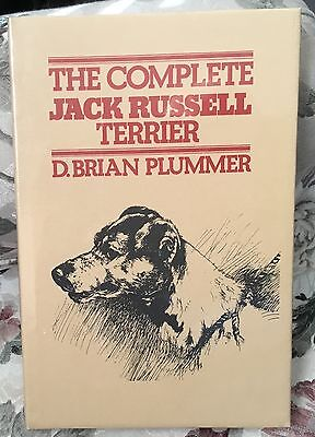 The Complete Jack Russell Terrier dog book D.Brian Plummer ~ NEW