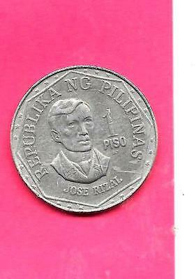 Philippines Km209.2 1981 Vf-Very Fine-Nice Large Old Piso Coin