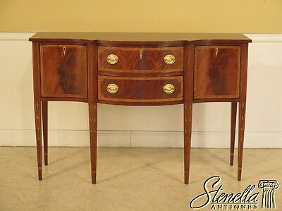 28762: COUNCILL CRAFTSMEN Federal Style Inlaid Mahogany Sideboard