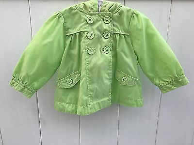 VGUC Girl's Lined Jacket, Size 12 Months