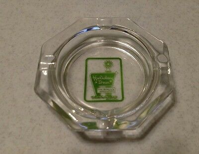 Holiday glass  Inn ashtray