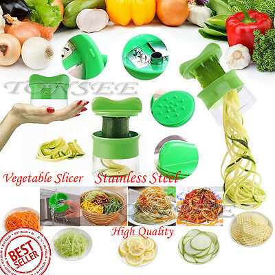 Spiral Super Slicer Plus Vegetable Fruit Dicer Cutter Chopper Nicer Grater ABS