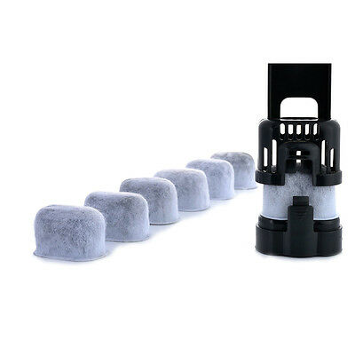 New Set Of 6 Replacement Water Filters For Coffee Machines Disposable Filters