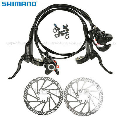 SHIMANO BR-BL-M355 Disc Brake MTB Bike Hydraulic Brake Set Front & Rear Black
