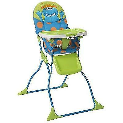 Cosco Simple Fold Deluxe High Chair, Monster Syd New