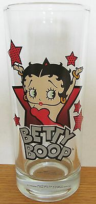 Betty Boop   Arms Raised In Star    Large 10Oz Glass