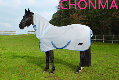 CHONMA    250GSM  Soft  Mesh  Breathable  Horse Rug Combo --A46
