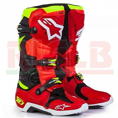 Alpinestars Motorcycle Motocross Offroad ATV TORCH TECH 10 Limited Edition Boot