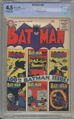 BATMAN 100 - CBCS 4.5 - Anniversary Issue - DC Comics