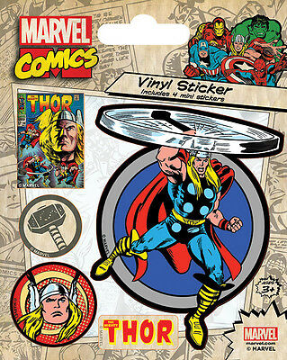 Thor Aufkleber Set / Vinyl Sticker Bundle # 1 Marvel Comics