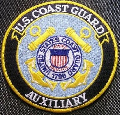 """US Coast Guard Auxiliary 5"""" patch"""