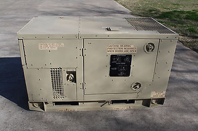 1620 HRS MEP-803A 10KW Military Diesel Generator Tactical Quiet TQG 120 240  208