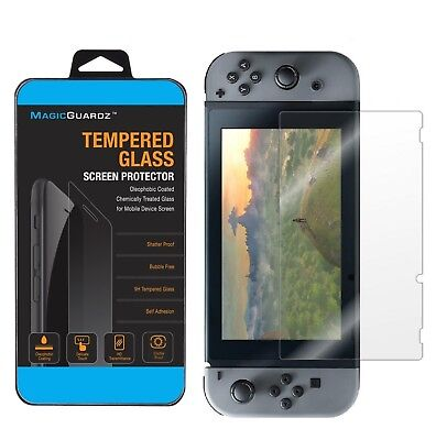 MagicGuardz® Tempered Glass Screen Protector Guard Shield For Nintendo Switch