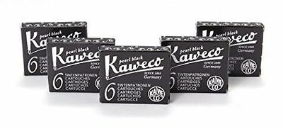 Kaweco Fountain Pen 30 ink international cartridges short black- Made In Germany