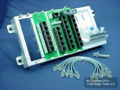 Leviton Structured Media Center SMC Telephone & Cat 5e Video Module 47603-AHT