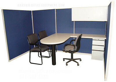 "Instant Office Customer Cubicle""  60'x 120' (67""H)  Pod of cubicles - New Fabric"