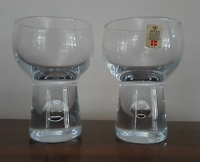 Pair Holmegaard Balloon Glasses