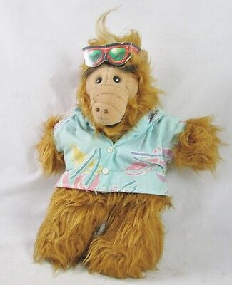 Beach Surf ALF Alien Puppet 1980s Burger King Advertising Plush 1988 TV Show