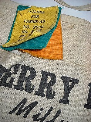 Perry Lumber Co. Workers Apron Salesmen Material Sample