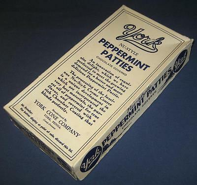 Vintage York Peppermint Patties Candy Store Display Box York Pa Cone Company