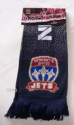 Newcastle United A League Adults Jacquard Scarf Football Soccer New