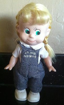 1965 Lil Miss Justrite Grocery Store Dakin Advertising Figure