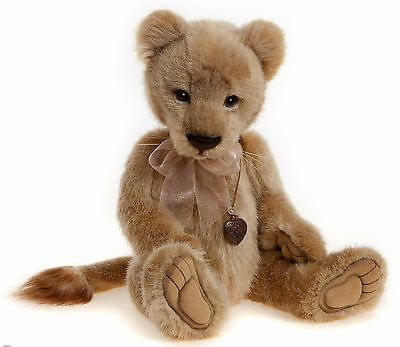 New **COLLECTABLE HANDMADE FULLY JOINTED CHARLIE BEAR ~ LYRA** 43cm