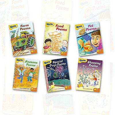 Oxford Reading Tree: Levels 5-6: Glow-worms 6 Book Pack Set By John Foster NEW