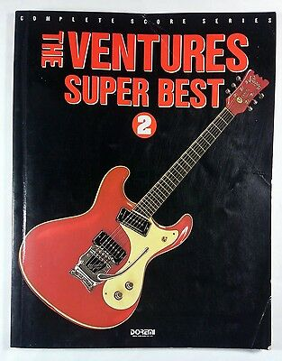 The Ventures Super Best 2 Band Score Japan Guitar Tab