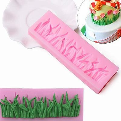 Grass Silicone Clay Mold Cake Fondant Chocolate Baking Decoration Moulds - CB