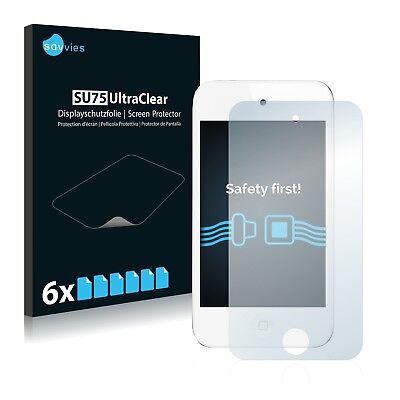 6x Savvies Screen Protector for Apple iPod Touch 4th generation 2011 (white)
