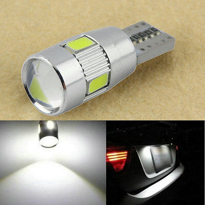 HID White CANBUS T10 W5W 5630 6-SMD Car Auto LED Light Bulb Lamp 194 192 158 C#