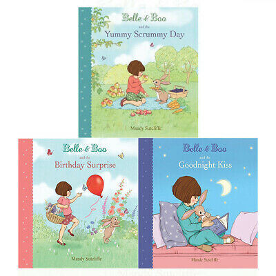 Mandy Sutcliffe Belle & Boo Collection 3 Books Set The Birthday Surprise,Goodnig