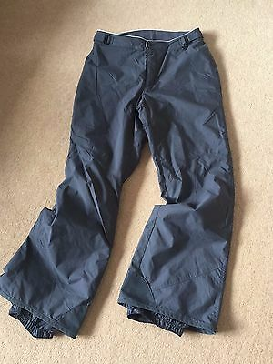 Ladies Columbia Light Weight Hiking  Golf Ski Trousers Size M ,fab Condition