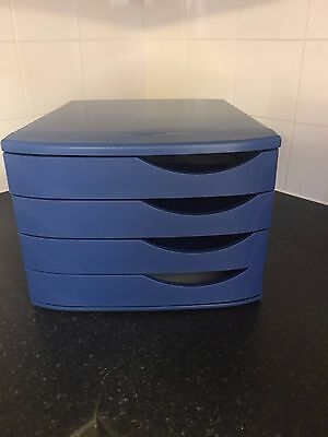 Desk top drawers 100% Recycled plastic A4 paper filing Office storage