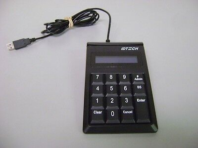 IDTech Encrypted Keypad with a Magstripe Reader USB, IDKE-534833BE