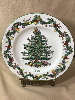 Spode Christmas Tree 1998 Annual Plate - 1937 Design